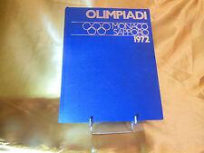 livre jeux olympiques  monaco sapporo 1972