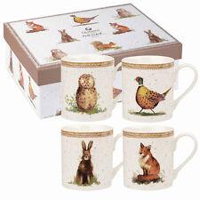 Alex clark wildlife mélèze 4 tasse ensemble cadeau
