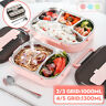 Stainless Steel Thermal Insulated Lunch Box Bento Food Container For Women Kids