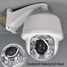 30x Zoom 1200TVL Auto Tracking SONY CCD 8 pcs LEDs PTZ DOME Security Camera CCTV