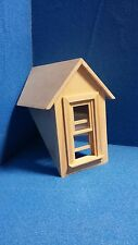 1 /12 scale   Dolls House Windows  Dormer Window  45 deg  DHD5149