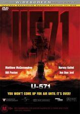 U-571 (DVD, 2000)VGC Pre-owned (D88)