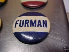 FURMAN UNIVERSITY  1940s Vintage College Pin