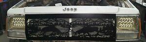 84-96 fits Jeep Cherokee Comanche XJ MJ Grill Replacement CUSTOM DESIGN POWDER