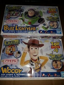 Bandai Cinema-Rise Toy Story Woody & Buzz Lightyear Figure Model Kits