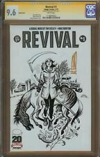 Revival #1 Sketch Cover Variant 9.6 Signature Series MIKE NORTON