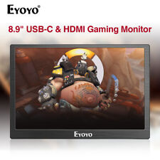 Original Eyoyo 8.9in USB-C IPS Monitor for Smartphone Xbox one Macbook 16/17/18