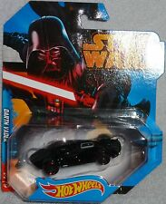 2014 Hot Wheels Disney Star Wars Darth Vader Black SHARP! Trek