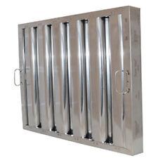 "Flame Gard® Type Vi Aluminum Baffle Grease Filter - 20""H x 25"" W"