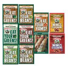 Wiley's Greens Seasoning,Beans & Peas,Corn Boil,Yam Spice,WINGS!