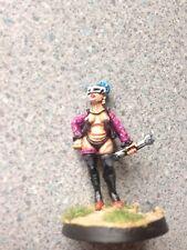 Pro painted femelle SciFi Granny Ganger Miniature