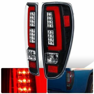 For 04-12 Colorado Canyon Tube Red Led Tail Light Lamp Black Housing OEM Replace