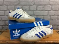 ADIDAS TRAINERS ORIGINALS TISCHTENNIS MENS UK 6 EU 39 WHITE BLUE RRP £70 C