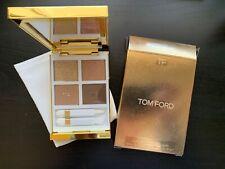 NIB Tom Ford Eye Color Quad #01 Golden Mink LIMITED ED. golden Packaging