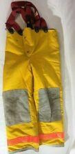 Vintage 1993 Globe Bunker Turnout Firefighter Pants With Liner Amp Suspenders
