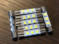 7 New Warm White 8V Fuse Lamp LED Light Bulbs for Marantz Sansui Pioneer Kenwood