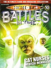 DOCTOR WHO BATTLES IN TIME ISSUE 10<>CAT NURSES<>MAGAZINE