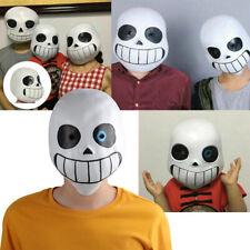Newest Halloween Undertale Mask Sans Papyrus Helmet Latex Cosplay Props Costume