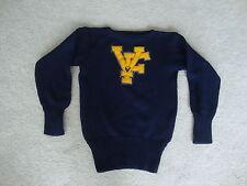 Vintage 60's VF high school rockabilly college cardigan Letter Varsity Sweater S