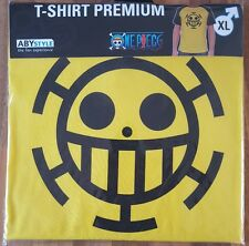 ONE PIECE TRAFALGAR LAW PREMIUM T-SHIRT OFFICIAL SIZE S
