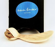ADAM BINDER Rare 'HOPPER CHOPPER'  (Tiny Frog) Netsuke Series 2007