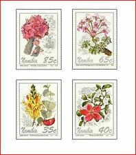 NAM9401 Flowers 4 stamps