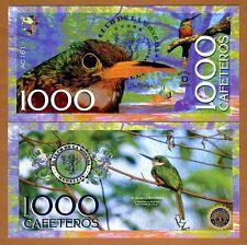 Colombia 1000 Cafeteros  El Club De La Moneda 2016 Rufous-tailed Jacama UNC