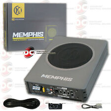 """BRAND NEW MEMPHIS 8"""" UNDER SEAT PRELOADED ENCLOSED SUBWOOFER WITH AMPLIFIER"""