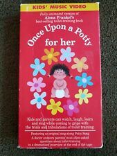 Once Upon a Potty - For Her (VHS, 2001).  The #1 Potty Training video.