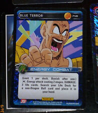 DRAGON BALL Z TCG DBZ PANINI CARD CARDDASS PRISM CARTE P18 BLUE TERROR PROMO