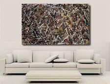Alchemy - Jackson Pollock - Canvas Wall Art