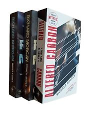 Altered Carbon Trilogy Richard Morgan 3 Book Science Fiction Netflix Series New