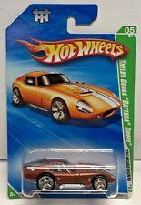 Hot Wheels 2010 Super Treasure Hunt Shelby Cobra Daytona Coupe Real Riders #5/12