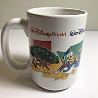 Walt Disney World Four Parks One World Grandma Coffee Vintage Mug