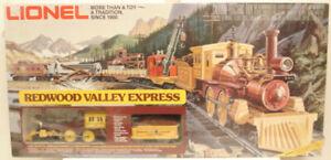 Lionel 6-1403 Redwood Valley Express Train Set LN/Box