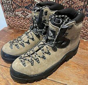 La Sportiva Makalu Mountaineering Boots Men's Sz 13 US Leather Outdoors 47 EURO