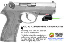 ArmaLaser GTO for Beretta PX4 Storm Full Size Green Laser Sight+FLX37 Touch Grip