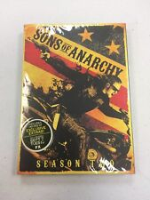 Sons of Anarchy: Season Two (DVD, 2010, 4-Disc Set) BRAND NEW SEALED L@@K