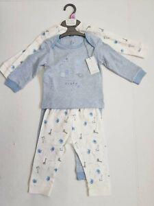 Baby boy pyjamas 2 pack MOTHERCARE 1 3 6 9 12 18 24 months nightwear