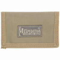 "Maxpedition MICRO Wallet Soft 4.5""x3"" ID Window - Khaki"