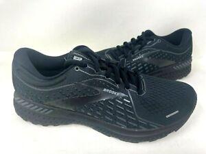 Brooks Men's Adrenaline GTS 21 Lace Up Running Shoes Black #1103491D020 78O z
