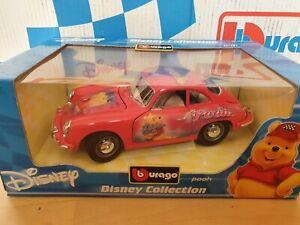 Porsche 356 B Coupe Disney Pooh 2003 Bburago 1:18
