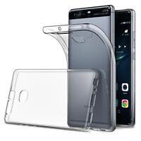 Dünn Slim Cover Huawei P9 Handy Hülle Silikon Case Schutz Tasche