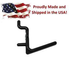 Plastic Black L Hook Peg Board Hook Kit Tool Storage Craft Hooks Pick A Pack