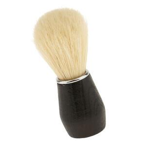 Neue Männer Geschenk Rasieren Bartbürste Kunststoffgriff Hause Salon