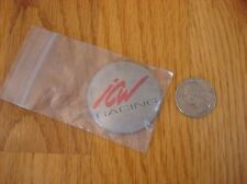 ICW racing sticker decal centercap center cap wheel emblem aftermarket silver