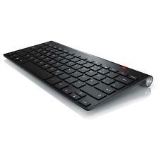CSL Premium Wireless 2,4GHz Tastatur Keyboard im Apple Slim Design QWERTZ Layout
