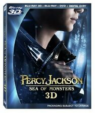 NEW Percy Jackson: Sea of Monsters (Blu-ray 3D / Blu-ray / DVD + Digital Copy)