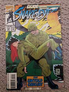GI Joe A Real American Hero #144 (1994) Marvel Comics Larry Hama VF condition