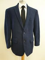 N661 MENS HARRY BROWN WOOL BLEND TAILORED FIT TWEED BLAZER JACKET UK XL EU 54